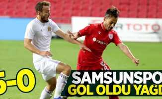 Samsunspor gol oldu yağdı! Samsunspor-Tarsus İ.Y. maç sonucu 5-0