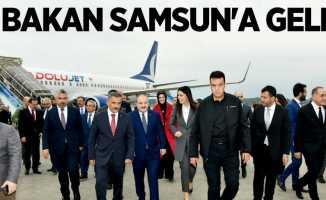 2 bakan Samsun'a geldi