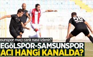İnegölspor – Yılport Samsunpor maçı hangi kanalda? İnegölspor-Samsunspor maçı canlı nasıl izlenir?