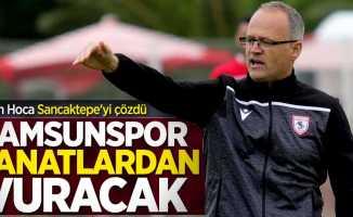 İrfan Hoca Sancaktepe'yi çözdü! Samsunsporkanatlardan vuracak