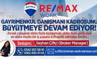 Remax WORK gayrimenkul danışmanı kadrosunu büyültüyor