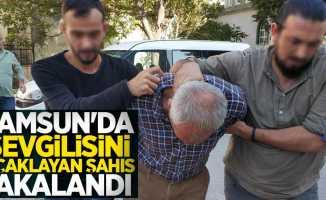 Samsun'da sevgilisini bıçaklayan şahıs yakalandı