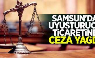Samsun'da uyuşturucu ticaretine ceza yağdı