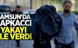Samsun'da kapkaççı yakayı ele verdi