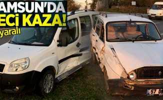 Samsun'da kaza! 6 yaralı