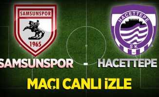 Y.Samsunspor - Hacettepe Maçını Canlı İzle