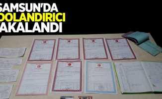 Samsun'da 2 dolandırıcı yakalandı