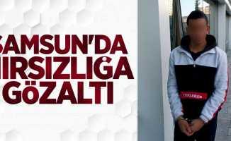 Samsun'da hırsızlığa gözaltı