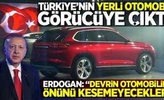 Türkiye'nin yerli otomobili görücüye çıktı!