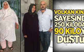 Volkan Kınaş sayesinde 250 kilodan 90 kiloya düştü!
