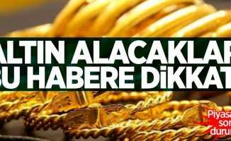 Altın piyasasında son durum! 17 Ocak Cuma altın fiyatları
