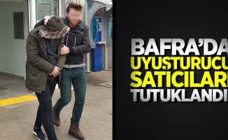 Bafra'da uyuşturucu satıcıları tutuklandı!