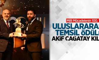 Milli Mücadelenin 100. Yılı Ödülleri: Akif Çağatay Kılıç (Uluslararası Temsil Ödülü)