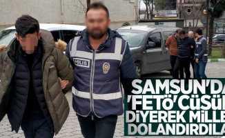 Samsun'da 'FETÖ'cüsün' diyerek milleti dolandıran sahte polisler yakalandı