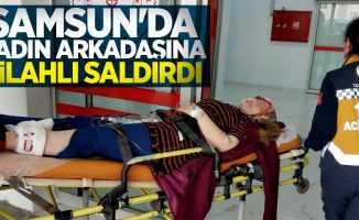 Samsun'da kadın arkadaşını vuran şahıs teslim oldu!