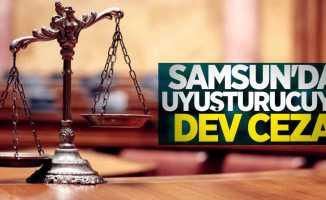 Samsun'da uyuşturucuya dev ceza