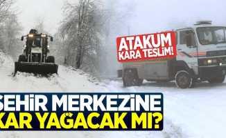 Samsun Merkez'e kar yağacak mı?