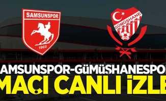 Yılport Samsunspor-Gümüşhanespor maçı canlı izle