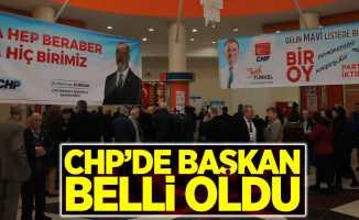 CHP'de başkan belli oldu
