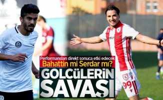 Manisa FK-Samsunspor maçında Bahattin mi Serdar mı? Golcülerin Savaşı