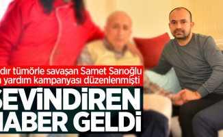 Samsun'da Samet Sarıoğlu için sevindiren haber