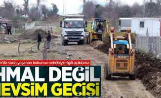 Samsun'da suda yaşanan kokunun sebebiyle ilgili açıklama: İhmal değil mevsim geçişi