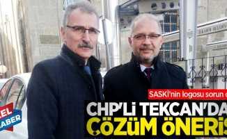 SASKİ'nin logosu sorun oldu! CHP'li Tekcan'dan çözüm önerisi