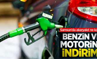 Benzin ve motorine indirim! Samsun'da akaryakıt ne kadar?