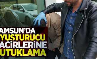 Samsun'da 2 uyuşturucu tacirine tutuklama