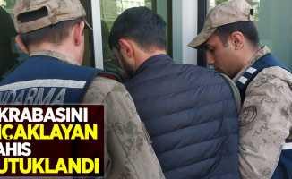 Samsun'da akrabasını bıçaklayan şahıs tutuklandı