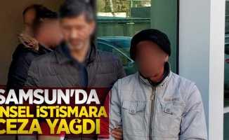 Samsun'da cinsel istismara ceza yağdı