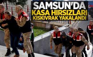 Samsun'da kasa hırsızları kıskıvrak yakalandı