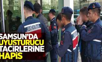Samsun'da uyuşturucu tacirlerine hapis