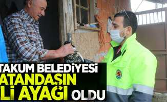 Atakum Belediyesi vatandaşın eli ayağı oldu