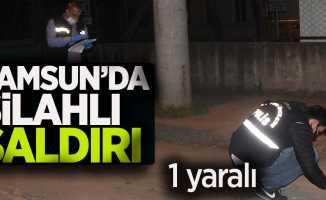Samsun'da silahlı saldırı /1 yaralı