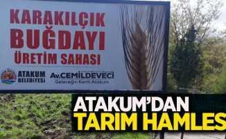 Atakum'dan tarım hamlesi !