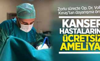 Op. Dr. Volkan Kınaş'tan kanser hastalarına ücretsiz ameliyat