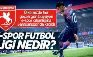 Samsunspor e-Spor'da yerini aldı