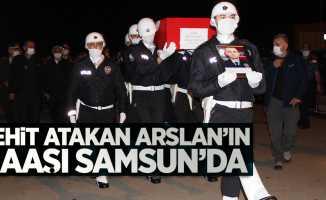 Şehit Atakan Arslan'ın cenazesi Samsun'da