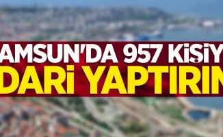 Samsun'da 957 kişiye idari yaptırım