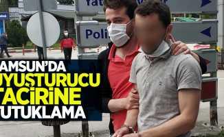 Samsun'da uyuşturucu tacirine tutuklama