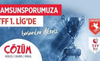 Çözüm Eğitim Kurumları'ndan Samsunspor'a kutlama mesajı