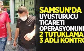 Samsun'da torbacı operasyonunda 2 tutuklama 3 adli kontrol
