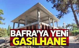 Bafra'ya yeni gasilhane