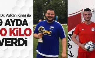 Op. Dr. Volkan Kınaş ile 9 ayda 40 kilo verdi