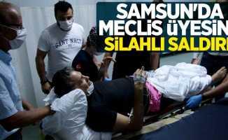 Samsun'da meclis üyesi Alper Aydemir'e silahlı saldırı!