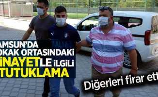 Samsun'da sokak ortasında işlenen cinayetle ilgili 1 tutuklama