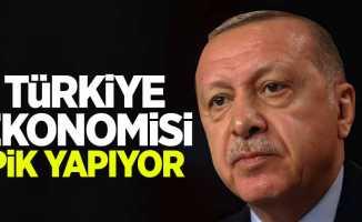 Erdoğan: Ekonomimiz pik yapıyor