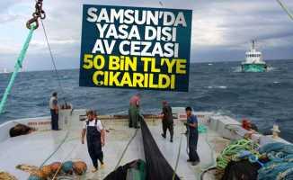Samsun'da yasa dışı av cezası 50 bin TL'ye çıkarıldı
