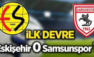 Eskişehir 0 Samsunspor 1 (İlk Devre)